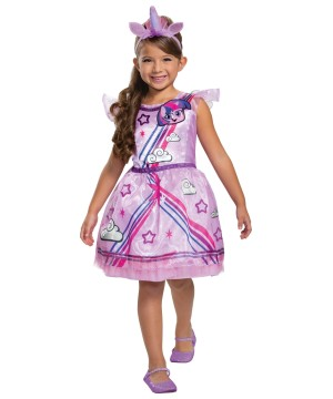 Girls Twilight Sparkle Costume Little Pony