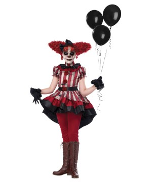 Girls Wicked Klown Costume