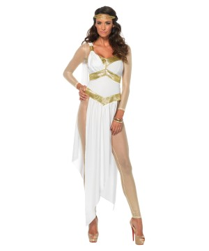 Sexy Golden Goddess Woman Costume