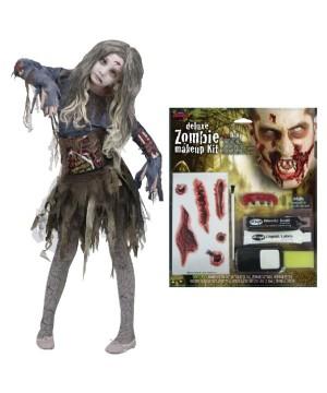 Gore Girl Zombie Costume Kit