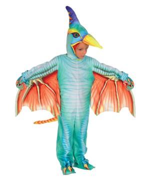 Green Pterodactyl Child Costume