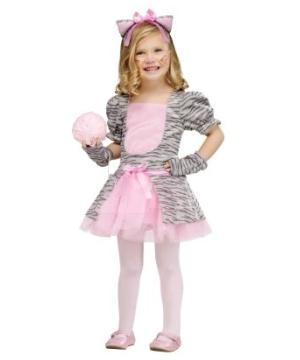 Grey Kitten Kids Costume