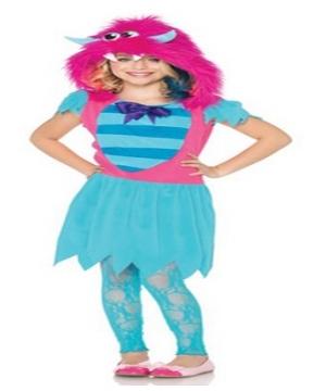 Growling Gabby Monster Girl Costume