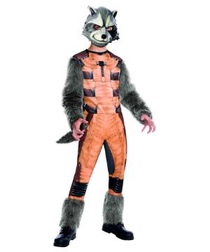 Guardians Of The Galaxy Rocket Raccoon Child Boys Costume