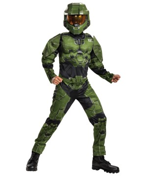 Boys Master Chief Infinite Muscle Costume