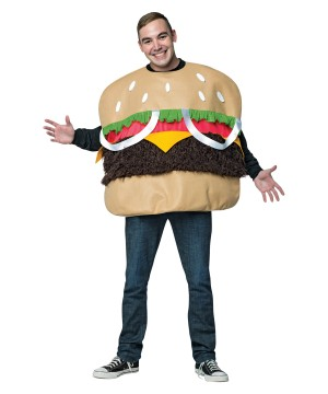 Hamburger Men Costume