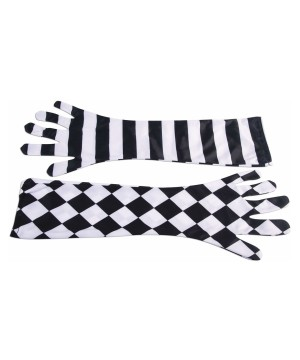 Harlequin Opera Women Gloves