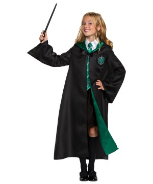 Harry Potter Deluxe Slytherin Robe Child