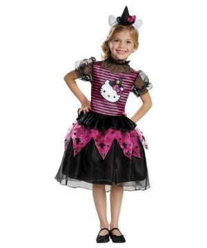 Hello Kitty Witch Girls Costume