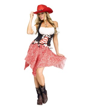 Cowgirl Honey Women Costume