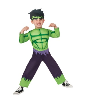 Hulk Boys Toddler Costume Marvel Comics Superhero Movie Avengers