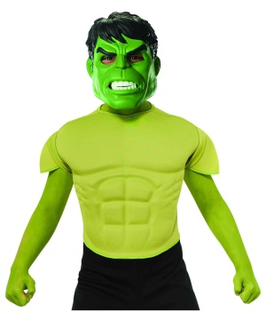 Hulk Boys Top Costume Marvel Superhero Comics Movie Standard Child