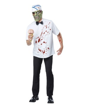 I Scream Man Scary Ice Cream Men Costume