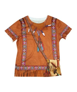 Native American Indian 3d Girls Shirt