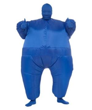 Inflatable Adult Costume Blue