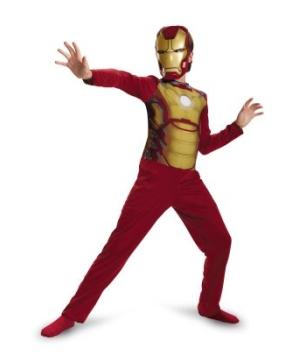Iron Man Mark 42 Kids Costume