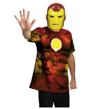 Iron Man Mask And T