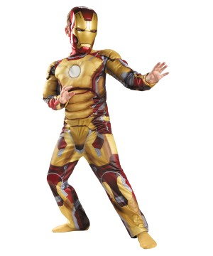 Iron Mark Avengers Boys Costume