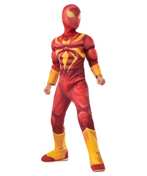 Marvels Iron Spiderman Boys Costume