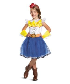 Jessie Tutu Deluxe Girl Costume