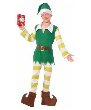 Jingles The Elf Boy Christmas Costume