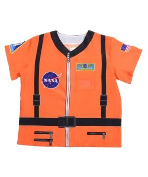 Kids Printed Astronaut Shirt