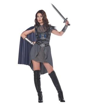 Lady Knight Womens Costume