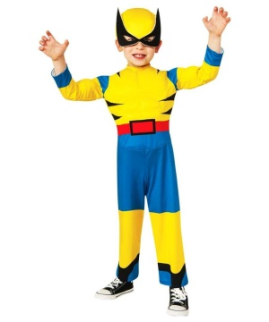 X?men Wolverine Muscle Toddler Costume