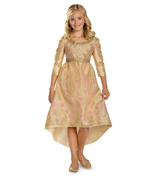 Disney Maleficent Aurora Coronation Gown Classic Girls Costume