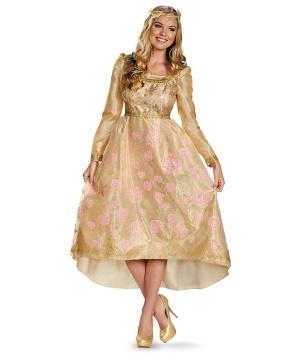 Disney Maleficient Aurora Coronation Gown Womens Costume Deluxe