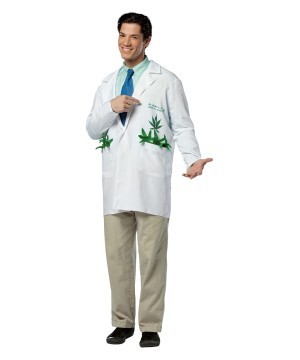 Adult Marijuana Doctor Costume