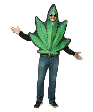 Marijuana Leaf Men Costume