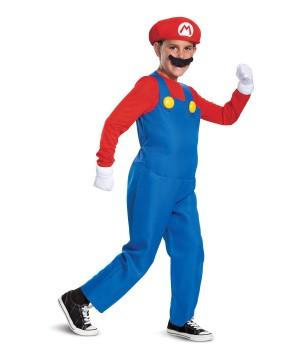 Mario Deluxe Boys Costume