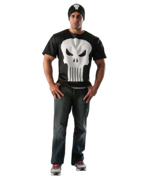 Marvel Punisher Adult Costume