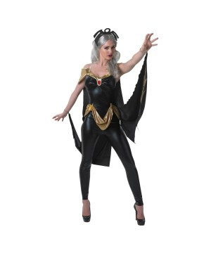 Marvel X?men Sexy Storm Catsuit Womens Halloween Cosplay Costume