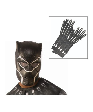 Mens Black Panther Accessory Kit