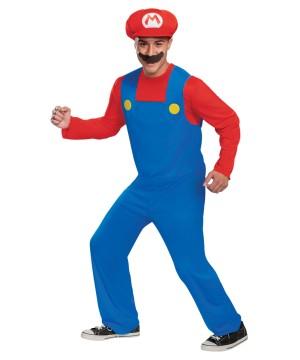 Mens Mario Costume