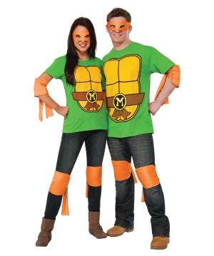 Ninja Turtle Michelangelo Costume Set