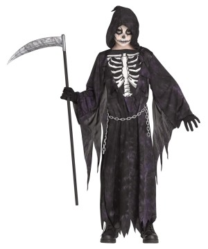 Midnight Reaper Childrens Costume