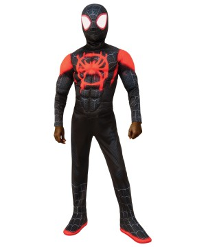 Miles Morales Spiderman Child Costume