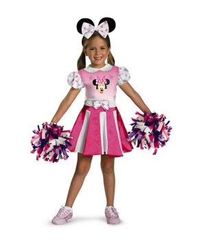 Minnie Mouse Cheerleader Costume