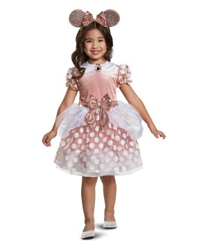 Minnie Mouse Rose Gold Classic Toddler