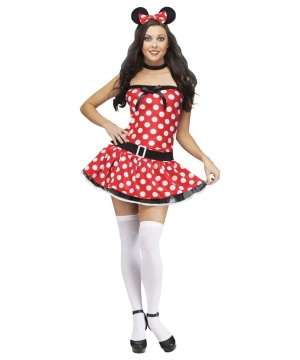 Miss Mousie Womens Costume