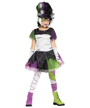 Monster Bride Childrens Costume