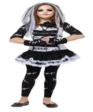Monster Bride Girl Costume