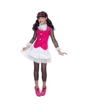 Monster High Draculaura Girls Costume Prestige