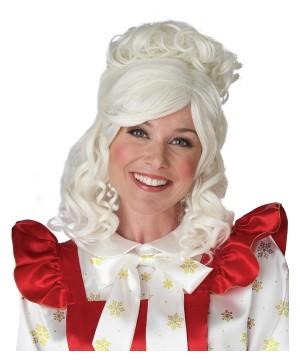 Mrs. Santa Claus Sexy Wig