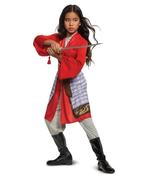 Mulan Red Dress Costume