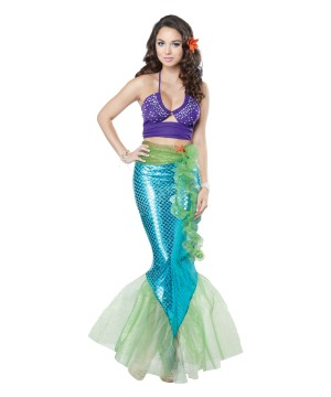 Sexy Mythic Mermaid Woman Costume