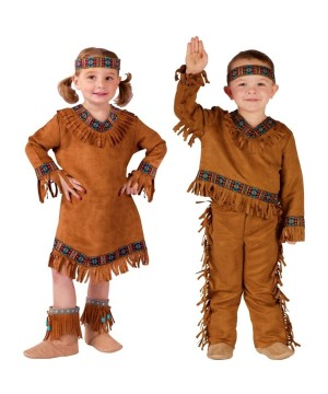 Native American Indian Baby Boy And Baby Girls Costumes